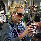 the strangeness of melbourne commuters by carol brandt