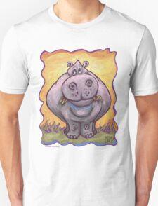 Animal Parade Hippopotamus Unisex T-Shirt