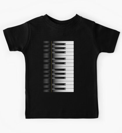 Piano - 2 Octaves Kids Tee