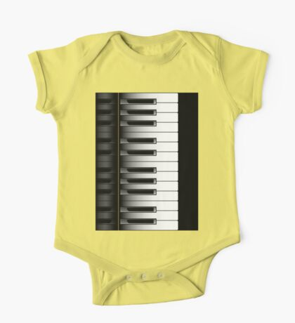 Piano - 2 Octaves One Piece - Short Sleeve