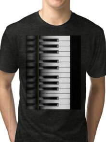 Piano - 2 Octaves Tri-blend T-Shirt