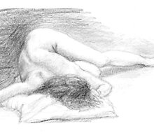 Life Drawing by burramys