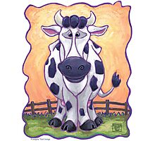 Animal Parade Cow Photographic Print