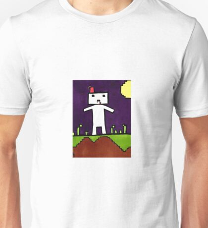 Vampire Gomez from Indie Game Fez Unisex T-Shirt