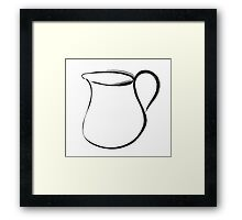 pitcher Framed Print