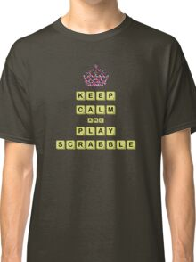 Keep Calm And Play Board Games Classic T-Shirt