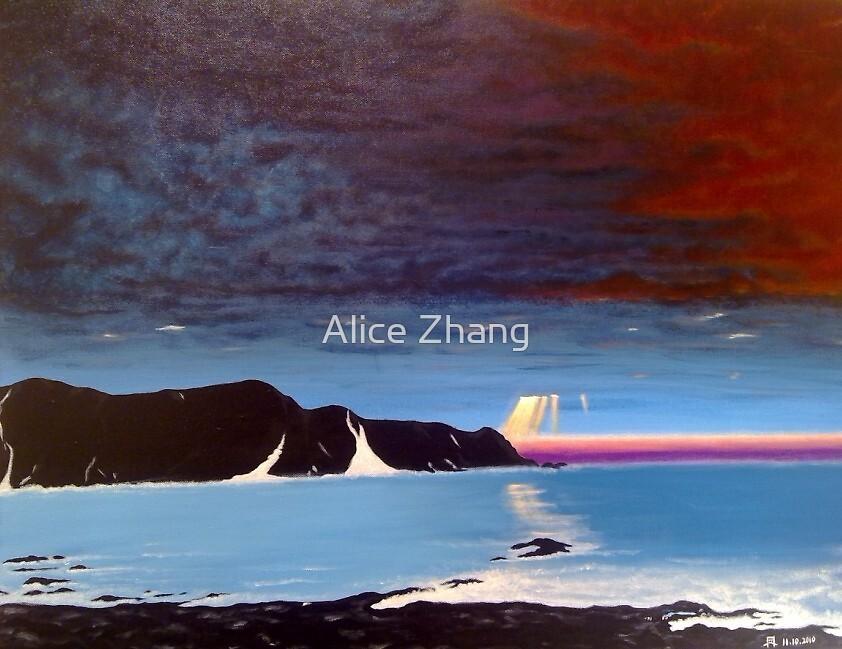 Shining through by Alice Zhang