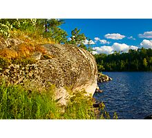 Voyageurs National Park - Grassy Bay Photographic Print