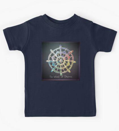 The Wheel of Dharma Kids Tee