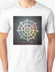The Wheel of Dharma Unisex T-Shirt