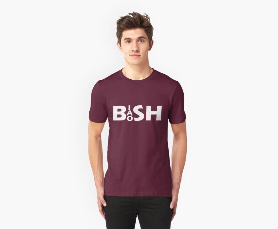 Bish Bash Bosh (White Text) by Paul James Farr