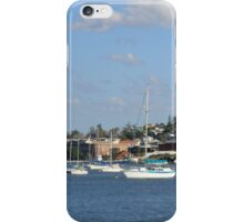 Brisbane River near Kingsford Smith Drive iPhone Case/Skin