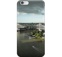 Story Bridge with an approaching storm iPhone Case/Skin