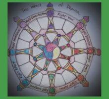 The Wheel of Dharma II Kids Tee