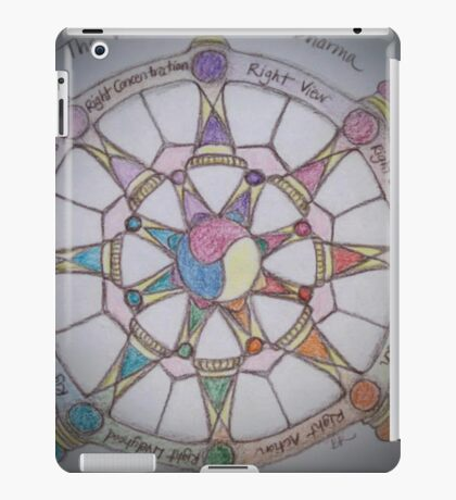 The Wheel of Dharma II iPad Case/Skin