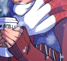 Winter Enjolras Sticker