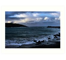 Coffs Harbour - Stormy Afternoon Art Print