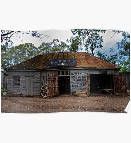Australiana Pioneer Village. Poster