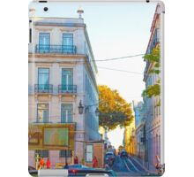 Largo do Chiado. iPad Case/Skin
