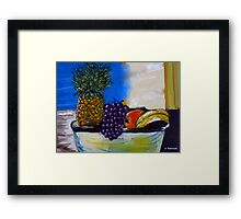 Fruit By My Window - Sydney, Australia Framed Print