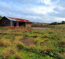 Old Barn at Herberts Hole, Buckinghamshire by Ian Jones