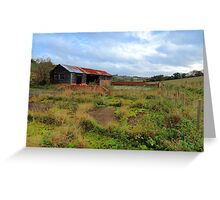 Old Barn at Herberts Hole, Buckinghamshire Greeting Card