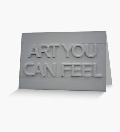 Feel Greeting Card