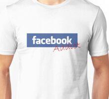 'facebook Addict' Unisex T-Shirt