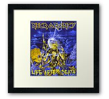 Necromancy, life after death Framed Print