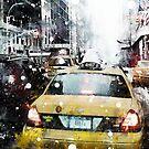Snow in New York by DARREL NEAVES
