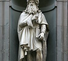 Leonardo Da Vinci by Rob Chiarolli