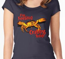 Feeling Crabby Women's Fitted Scoop T-Shirt