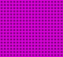 Squares - Black + Pink Border by cmmei