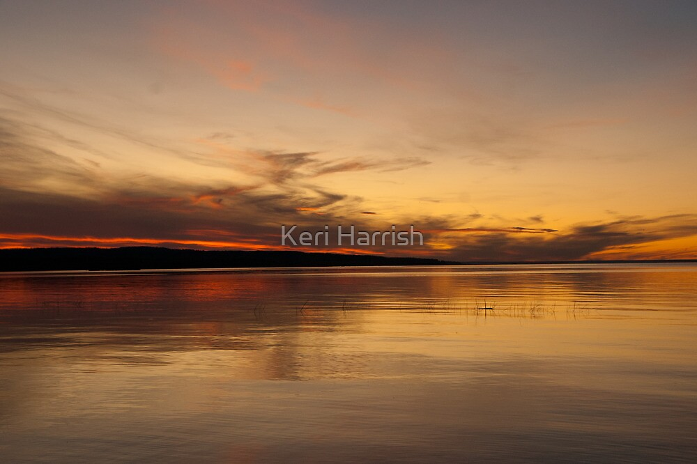 Sunset  by Keri Harrish