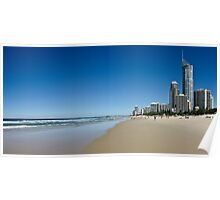 Surfers Paradise Panorama Poster