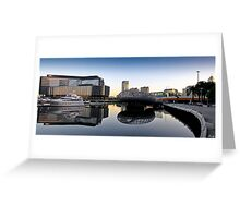 Docklands Reflections Greeting Card