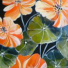 2013 Calendar of flowers by artist Elizabeth Moore Golding  by Elizabeth Moore Golding
