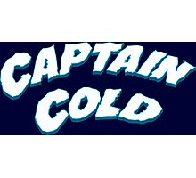 Captain Cold Photographic Print