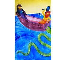 Thor and Hymir go Fishing Photographic Print