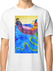 Thor and Hymir go Fishing Classic T-Shirt