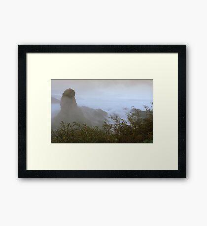Mysterious Fan Jing Mountain Framed Print