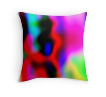 Artistic in the blur 1 Throw Pillow