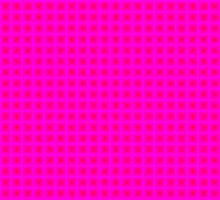 Squares - Red + Pink Border by cmmei
