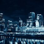 Melb at Night by kendall1