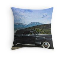 1941 Cadillac  Convertible Coupe Throw Pillow
