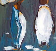 King Penguins Australia by Margaret Morgan (Watkins)