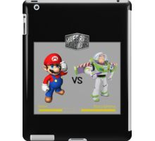 Mario Bros vs Buzz Lightyear iPad Case/Skin