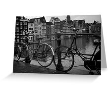 Parked in Amsertdam Greeting Card