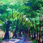 Avenue of Honour - Bacchus Marsh Vic Australia by Margaret Morgan (Watkins)