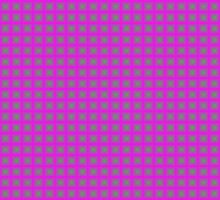 Squares - Green + Pink Border by cmmei